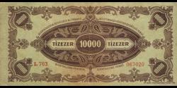 Hongrie - p119b - 10.000Pengö - 15.07.1945 - Magyar Nemzeti Bank