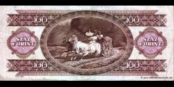 Hongrie - p174a - 100 Forint - 15.01.1992 - Magyar Nemzeti Bank