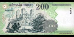 Hongrie - p187c - 200 Forint - 2003 - Magyar Nemzeti Bank