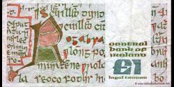 Irlande - p70c - 1 Pound - 24.10.1984 - Central Bank of Ireland / Banc Ceannais na h - Éireann