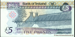 Irlande du Nord - p083 - 5 Pounds - 20.04.2008 - Bank of Ireland