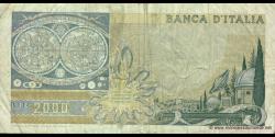 Italie - p103a - 2.000 Lire - 08.10.1973 - Banca d'Italia