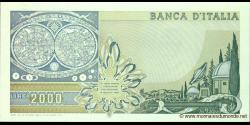 Italie - p103c - 2.000 Lire - 24.10.1983 - Banca d'Italia