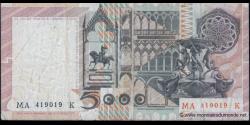 Italie - p105b - 5.000 Lire - 03.11.1982 - Banca d'Italia