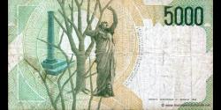 Italie - p111b - 5.000 Lire - 04.01.1985 - Banca d'Italia