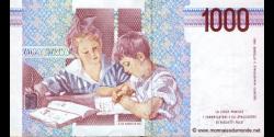 Italie - p114a - 1.000 Lire - 03.10.1990 - Banca d'Italia