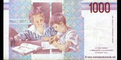 Italie - p114b - 1.000 Lire - 03.10.1990 - Banca d'Italia