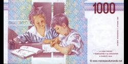 Italie - p114c - 1.000 Lire - 03.10.1990 - Banca d'Italia
