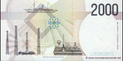 Italie - p115 - 2.000 Lire - 03.10.1990 - Banca d'Italia