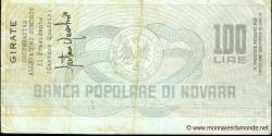 Italie - pG1282 - 100 - 100 Lire - 03.12.1976 - Banca Popolare di Novara