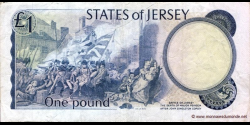 Jersey - p11a - 1 Pound - ND (1976 - 1988) - Treasury of the States of Jersey