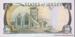 Jersey - p26b - 1 Pound - ND (2000) - Treasury of the States of Jersey