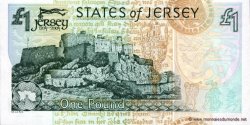 Jersey - p31 - 1 Pound - 2004 - Treasury of the States of Jersey