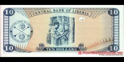 Libéria - p27c - 10 dollars - 2006 - Central Bank of Liberia