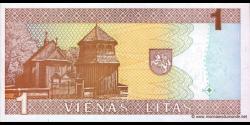 Lituanie - p53 - 1 Litas - 1994 - Lietuvos Bankas