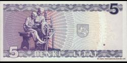Lituanie - p55 - 10Litai - 1993 - Lietuvos Bankas