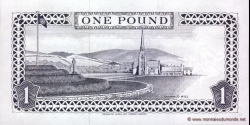 Man - île - de - p40b - 1 Pound - 1991 - Isle of Man Government / Isle of Man Bank Limited