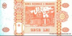 Moldavie - p10f - 10Lei - 2009 - Banca Naţională a Moldovei