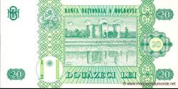 Moldavie - p13i - 20Lei - 2010 - Banca Naţională a Moldovei