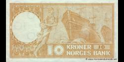 Norvège - p31c - 10 Kroner - 1964 - Norges Bank