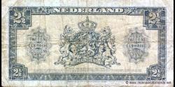 Pays-Bas - p71 - 2 ½ Gulden - 18.05.1945 - Ministerie van Financiën