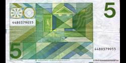 Pays-Bas - p95 - 5Gulden - 28.03.1973 - Nederlandsche Bank