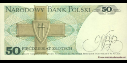 Pologne - p142c - 50Złotych - 01.12.1988 - Narodowy Bank Polski