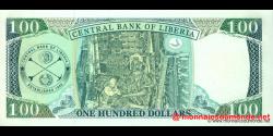 Libéria - p30e - 100 dollars - 2009 - Central Bank of Liberia
