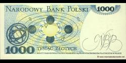Pologne - p146c - 1.000Złotych - 01.06.1982 - Narodowy Bank Polski