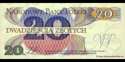 Pologne - p149a2 - 20Złotych - 01.06.1982 - Narodowy Bank Polski