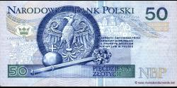 Pologne - p175 - 50Złotych - 25.03.1994 - Narodowy Bank Polski