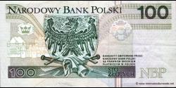 Pologne - p176 - 100Złotych - 25.03.1994 - Narodowy Bank Polski