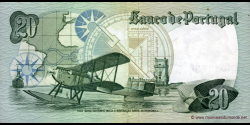 Portugal - p176b2 - 20 Escudos - 01.10.1978 - Banco de Portugal