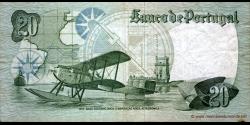 Portugal - p176b3 - 20 Escudos - 01.10.1978 - Banco de Portugal