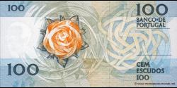 Portugal - p179b2 - 100 Escudos - 12.02.1987 - Banco de Portugal