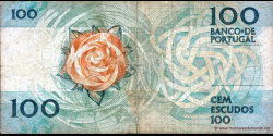 Portugal - p179c2 - 100 Escudos - 12.02.1987 - Banco de Portugal
