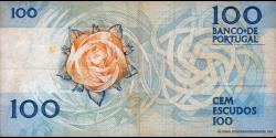 Portugal - p179f3 - 100 Escudos - 24.11.1988 - Banco de Portugal