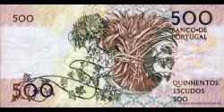 Portugal - p180d2 - 500 Escudos - 04.10.1989 - Banco de Portugal