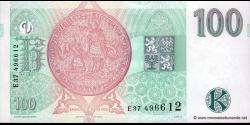 République tchèque - p18 - 100 Korun Českých - 1997 - Česká Národní Banka
