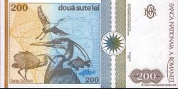 Roumanie - p100 - 200 Lei - 12.1992 - Banca Naţională a României