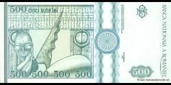 Roumanie - p101b - 500 Lei - 12.1992 - Banca Naţională a României