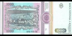 Roumanie - p102b - 1.000 Lei - 05.1993 - Banca Naţională a României