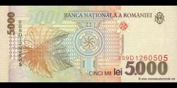 Roumanie - p107b - 5.000 Lei - 1998 - Banca Naţională a României