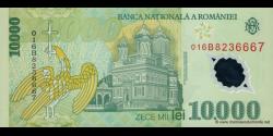 Roumanie - p112b - 10.000 Lei - 2001 - Banca Naţională a României