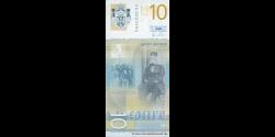Serbie - p54a - 10 Dinara - 2011 - Narodna Banka Srbije