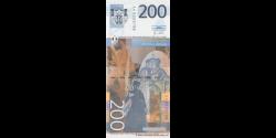 Serbie - p58a - 200 Dinara - 2013 - Narodna Banka Srbije