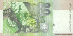 Slovaquie - p20c - 20 Slovenských Korún - 31.10.1997 - Národná Banka Slovenska