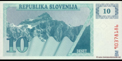 Slovénie - p04 - 10Tolarja - 1990 - Republika Slovenija