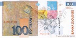 Slovénie - p31 - 100 Tolarjev - 15.01.2003 - Banka Slovenije