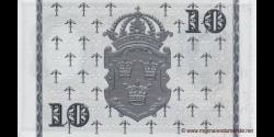 Suède - p43g - 10 Kronor - 1959 - Sveriges Riksbank